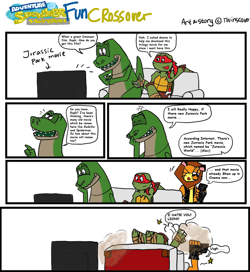 FC Part 20 - Jurassic World for Rex by twinscover