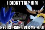 I Didn't Trip Him