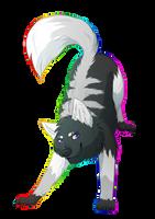 Chrome Rainbow by ShimmiDragon