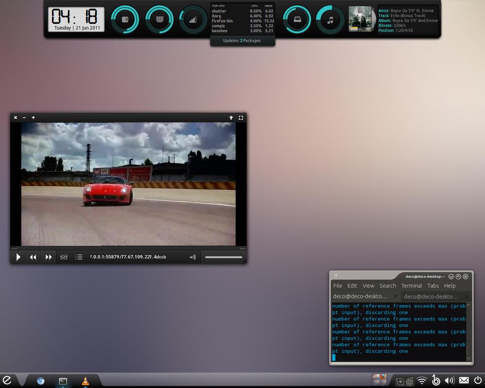 June Desktop Mint 11 by Blitz-Bomb