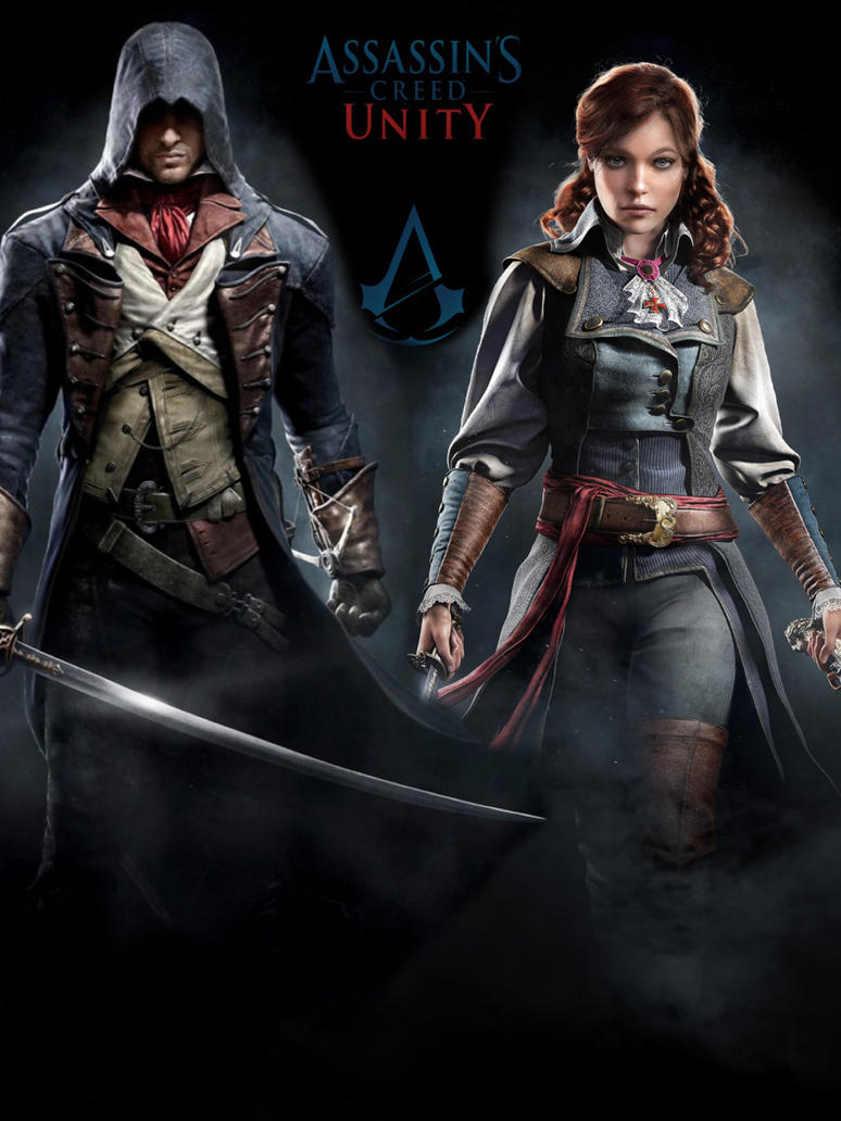 ASSASSINS CREED UNITY FAN MADE POSTER by indiarosem on ...