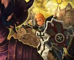 The crusader of Diablo3