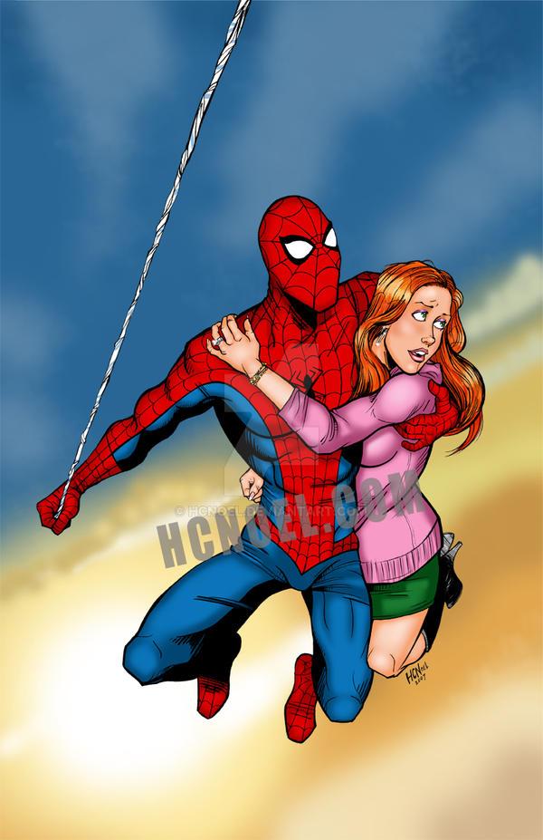 Секс филм челавек паук