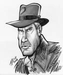 Indiana Jones Caricature