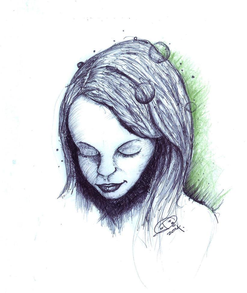 Fair woman by izboos