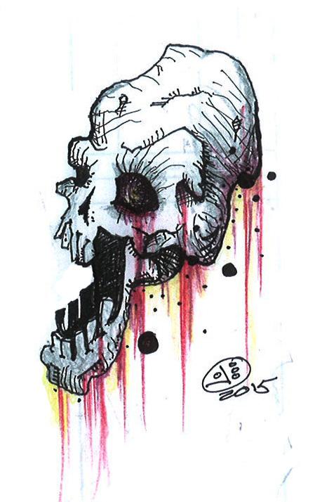 Skull 2 by izboos