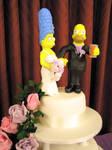 Simpsons Bride And Groom