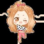 SNSD Jessica FanArt Love and Girls PNGbyUmi
