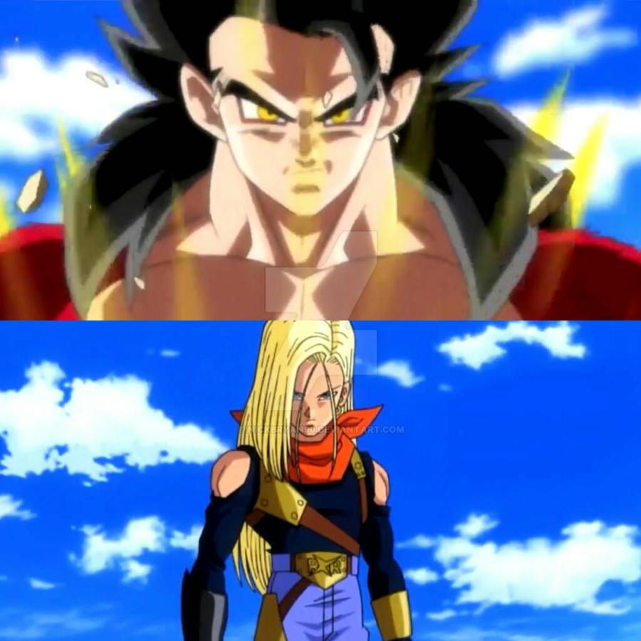 Beaches Dragon Ball Android 17 And 18 Fusion