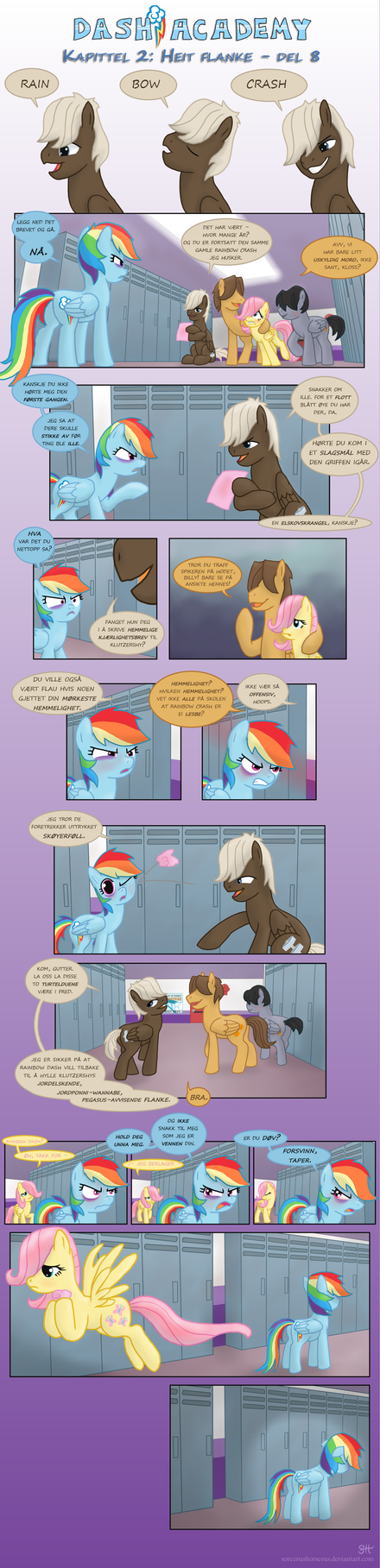 Norwegian - Dash Academy 2 Hot Flank Part 8 by TheHallOfMall