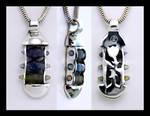 Ternion Sapphire Pendant