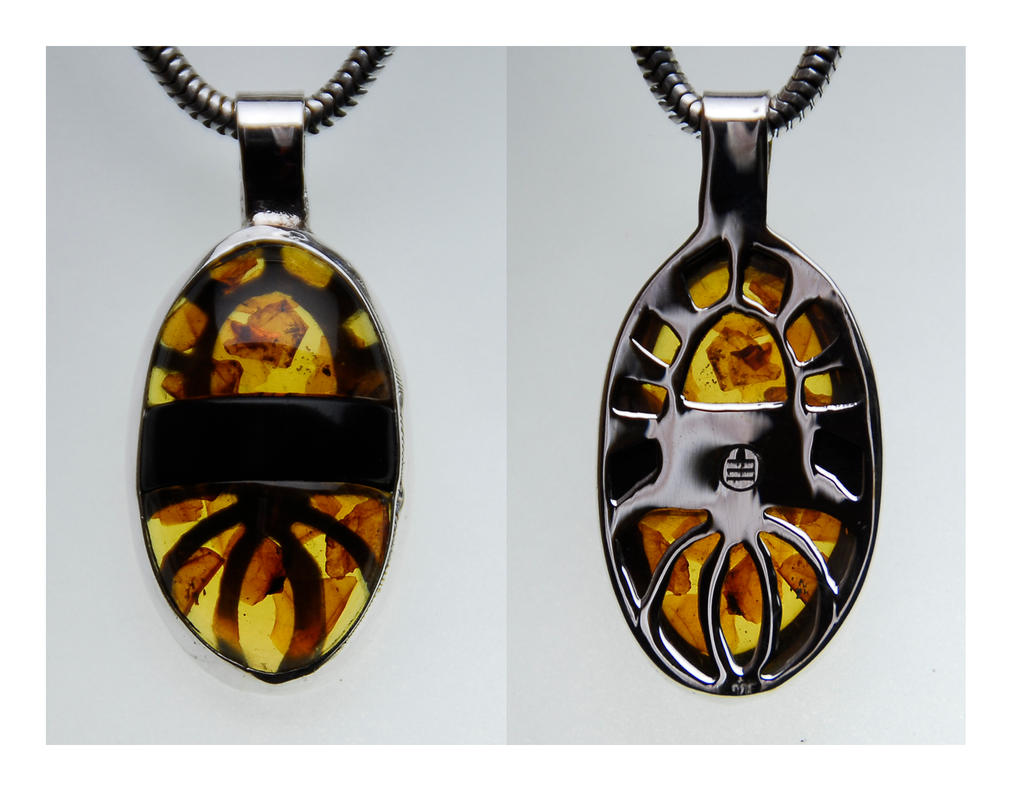 Amber jet pendant by manwithashadow on deviantart amber jet pendant by manwithashadow aloadofball Image collections