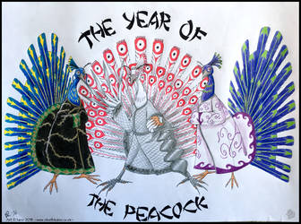 -The Year of the Peacock- by SilvolfStudios