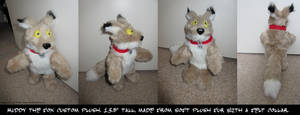-Muddy the Fox Plush- by SilvolfStudios