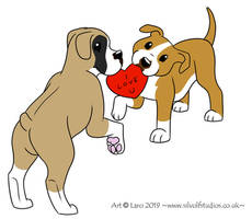 -Valentines Dogs-