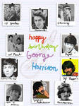 Happy Birthday George Harrison
