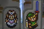 Link and Zelda, Pixel Art
