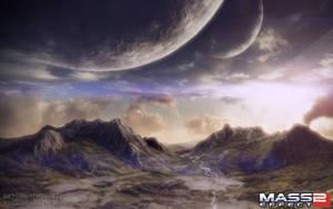 Mass Effect 2 - Aite Scenic 2 by Lavenderkae