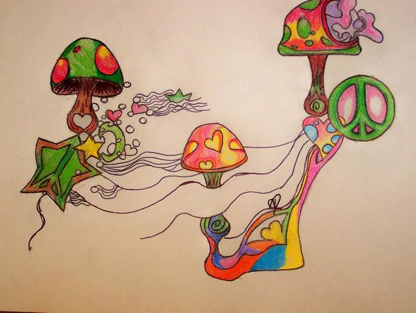 Trippy Mushrooms By Sh0rty105 On Deviantart