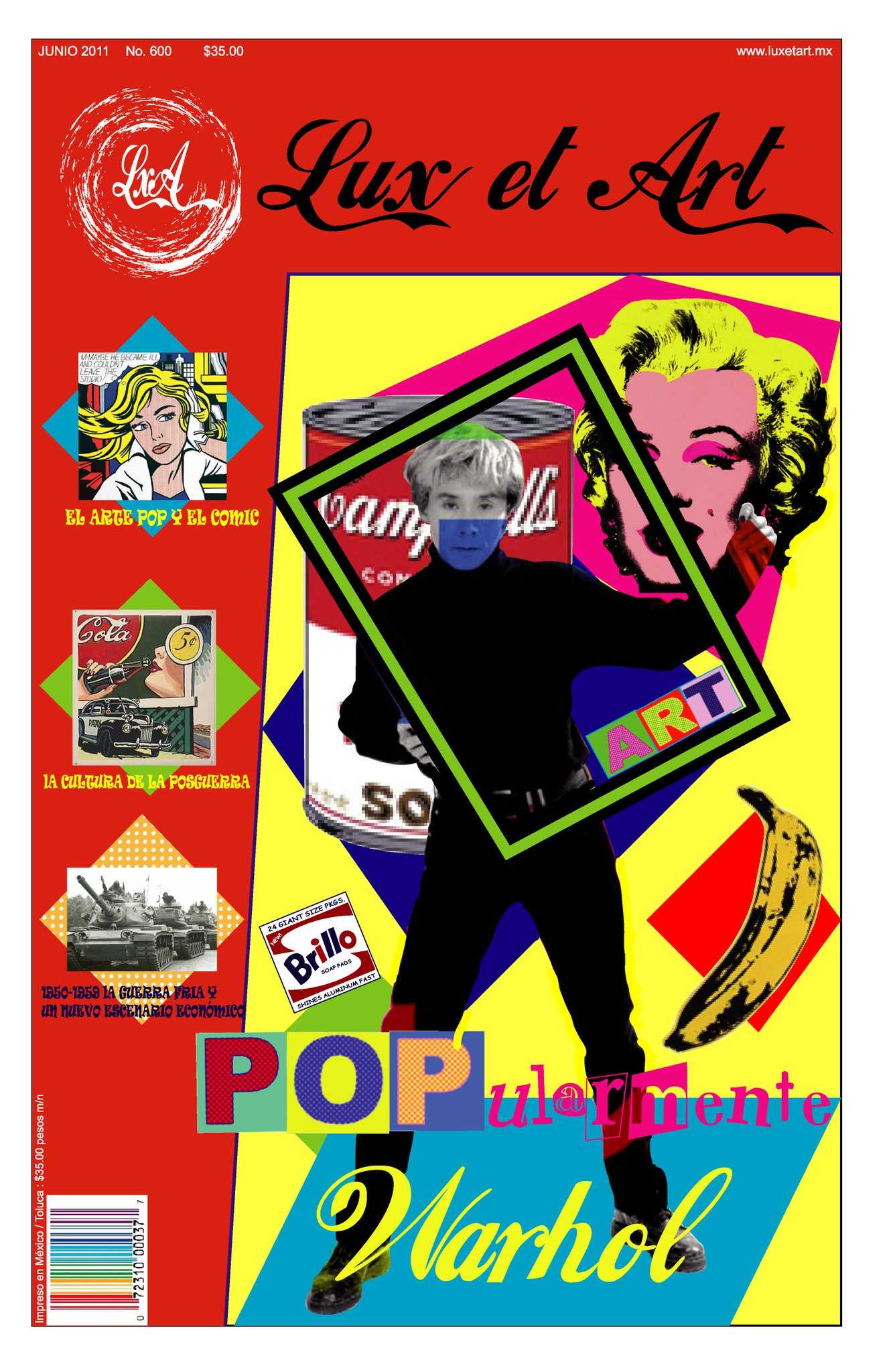 Populaire magazine cover of pop art by fabexu on DeviantArt RT13