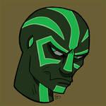Runed Alien -Green