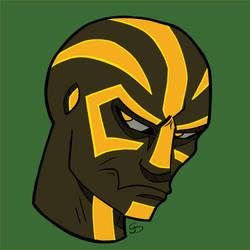 Runed Alien -Yellow