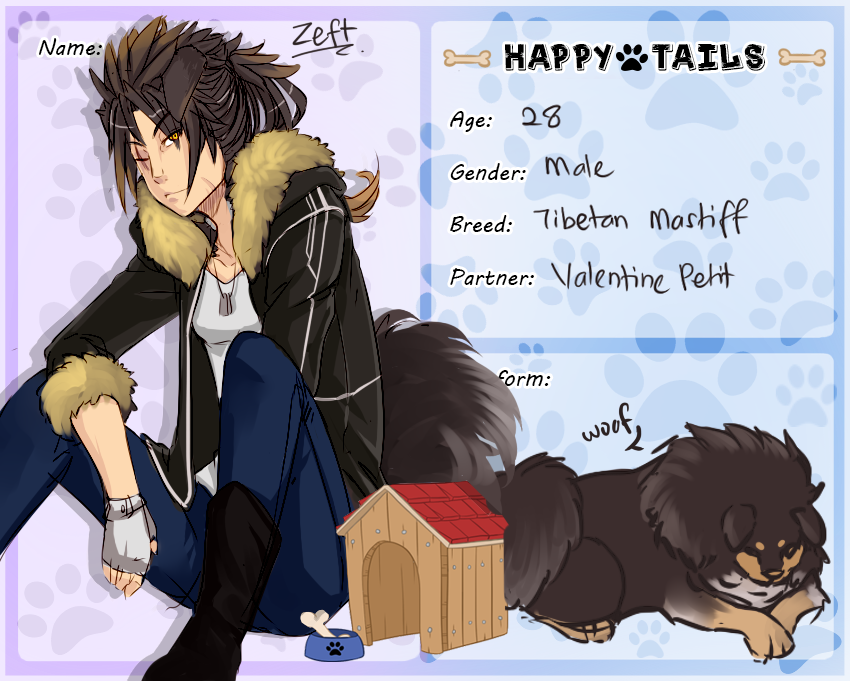 [HT] Zeft the Tibetan Mastiff by horyuu
