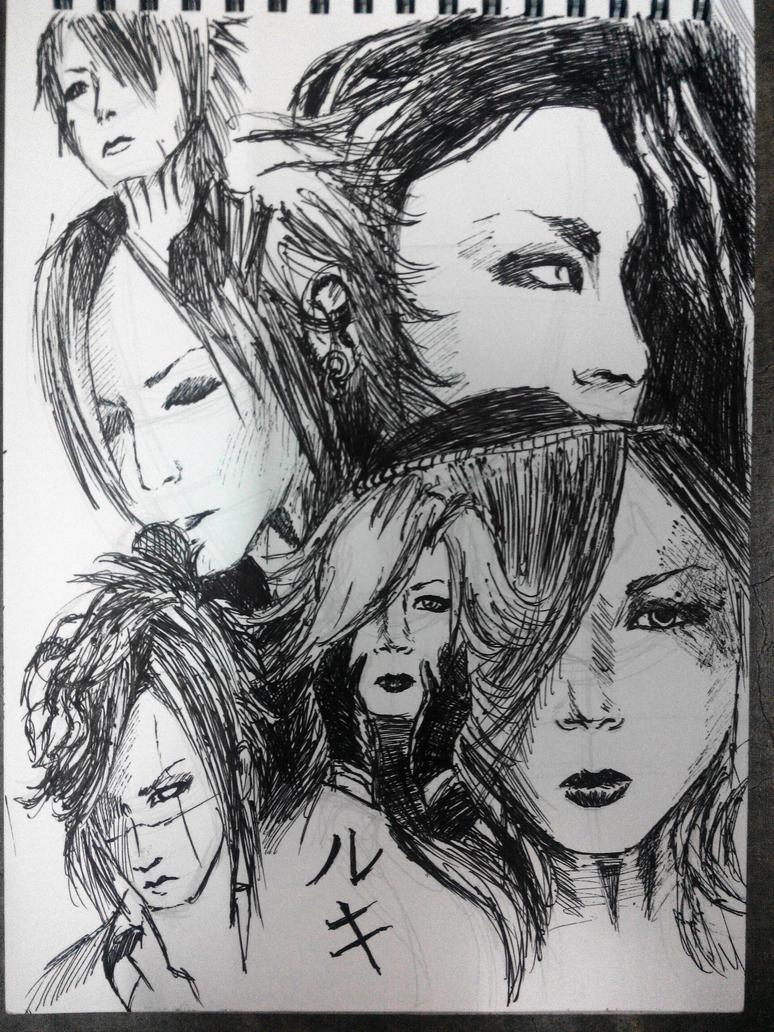 sketch Ruki by RyuzatoMayakashi