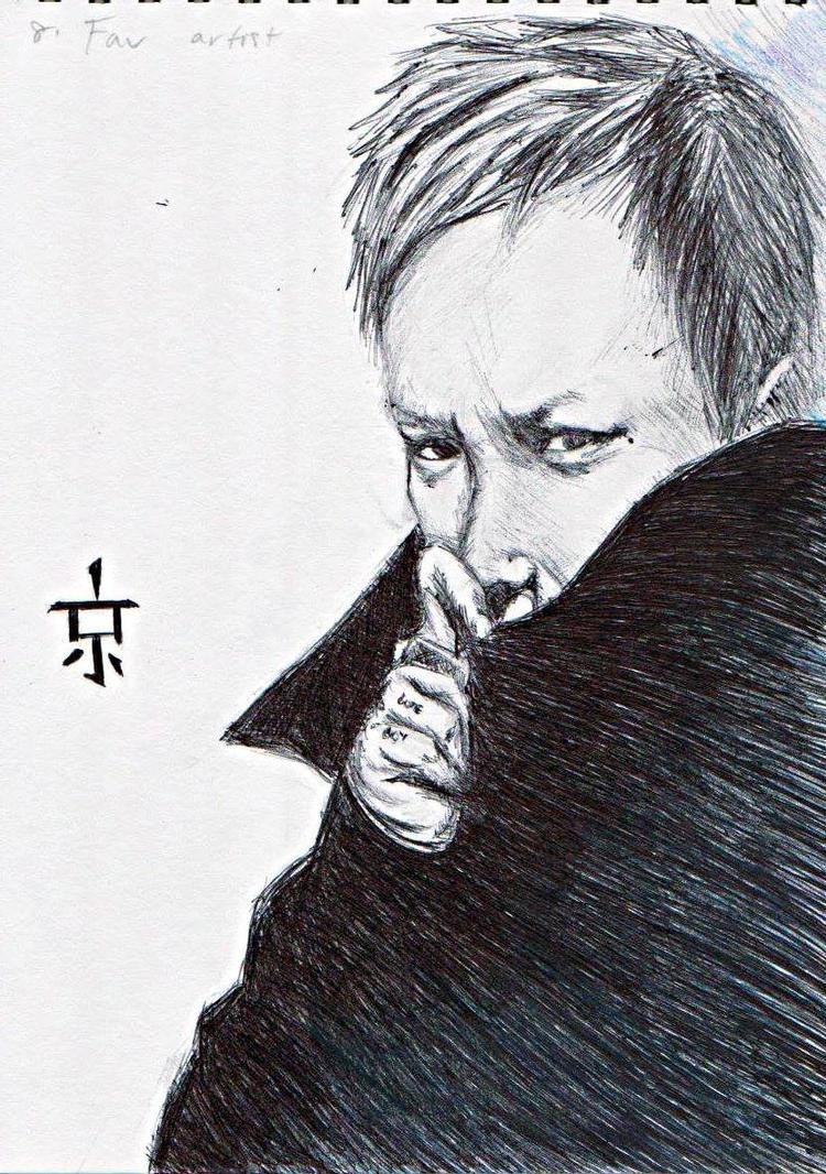 Kyo drawing challenge by RyuzatoMayakashi