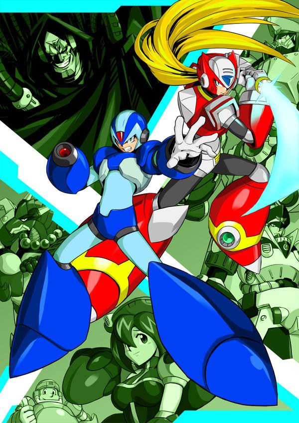 Zero Megaman X4 Rockman X4 by the-hary...