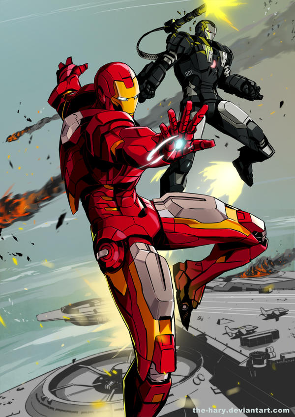 IronManWarMachine by the-hary