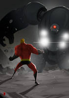 Mr. Incredible by the-hary