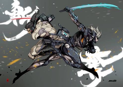 Raiden VS Sam
