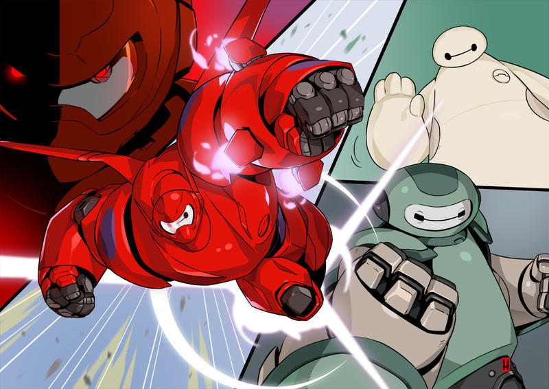 BAYMAX by the-hary