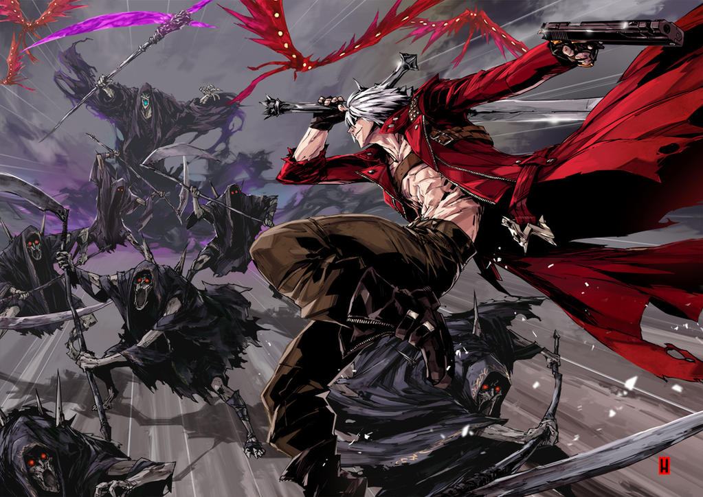 DANTE MUST DIE! by the-hary