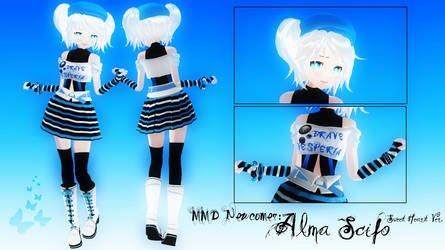 MMD Newcomer: Alma Scifo. by Ark-Angel-Lirael