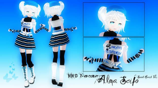 MMD Newcomer: Alma Scifo.
