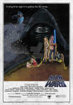 Star Wars: The Force Awakens (1977 Replica Style)