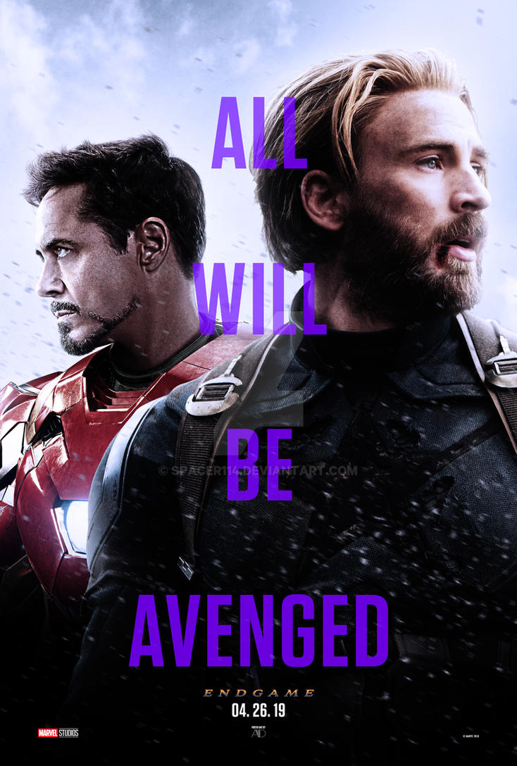 Avengers: Endgame - Teaser by spacer114