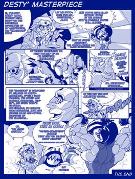 comic - Desty Nova masterpiece