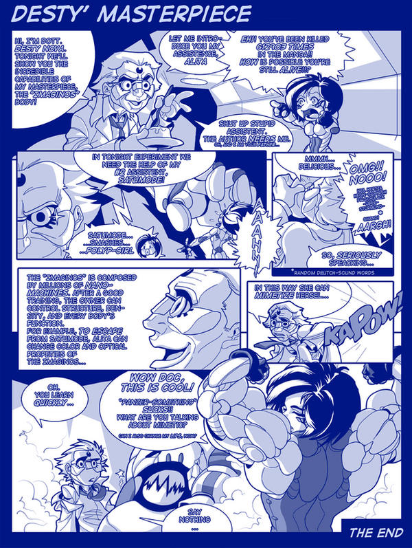 comic - Desty Nova masterpiece by Gettar82