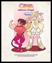 Catra princess of power by Gettar82