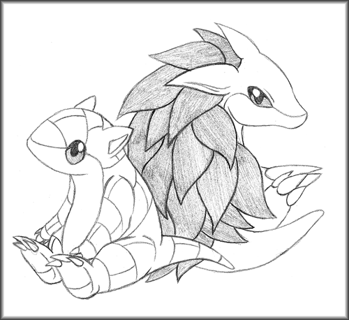sandslash pokemon coloring pages - photo#18