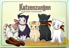 Katzenzungen by ValentineUmbreon