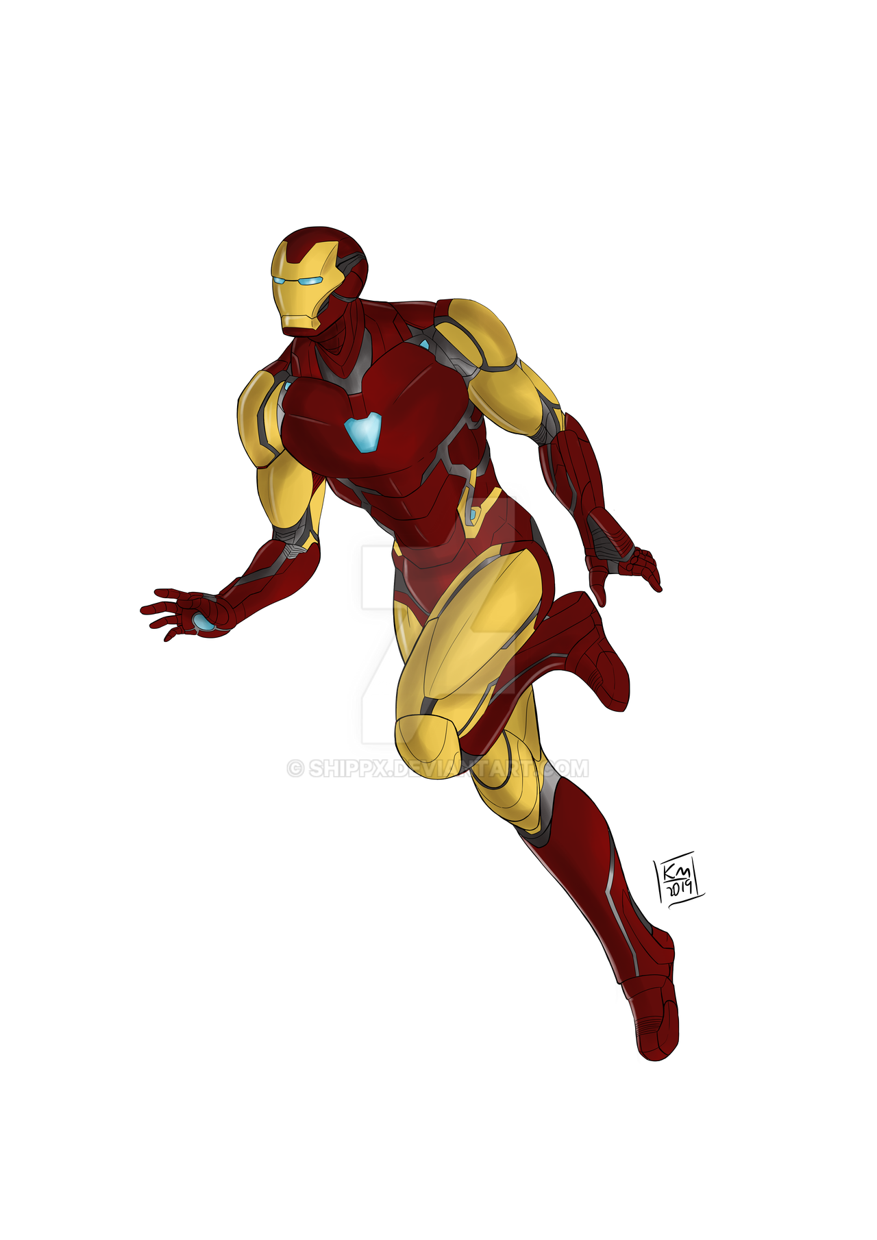 Iron Man End Game by ShippX on DeviantArt