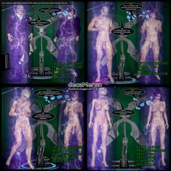Light Beams Transformation (from Kara's comic) by decaMeronX