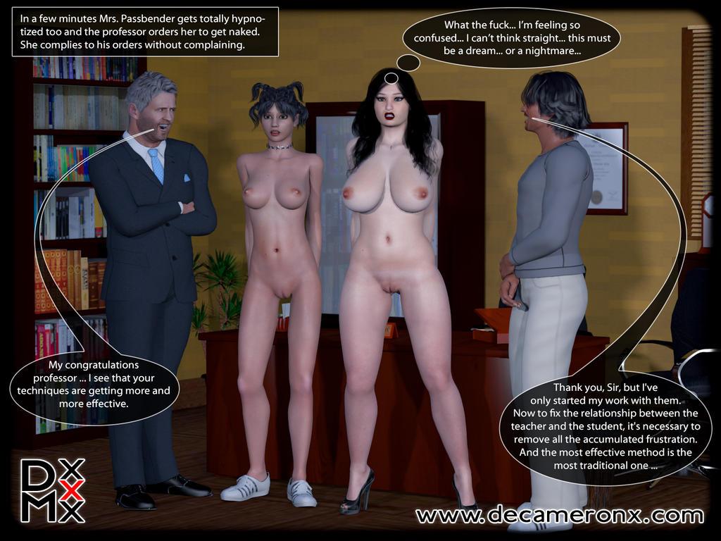 Hypno Girls - Kinky School - Page 4 by decaMeronX