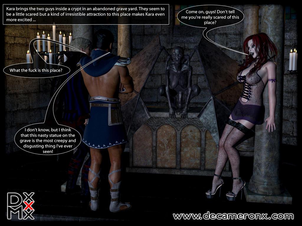 Vampire Futanari Feast by decaMeronX