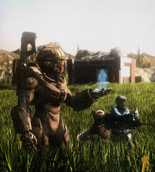 Halo: Lone Wolf (Recreation Image -No words-)