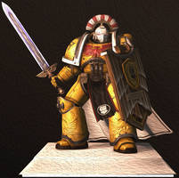 New lights and Photoshop TRAINING Imperial Fist